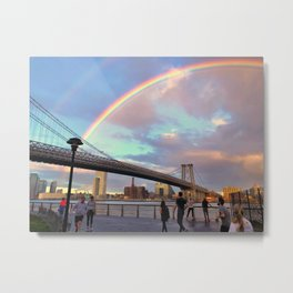 Pot of Gold on The East River Metal Print