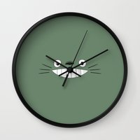 nausicaa Wall Clocks featuring Studio Ghibli Movie Inspiration by Freak Shop | Freak Products