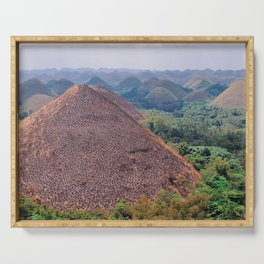 The Chocolate Hills Serving Tray