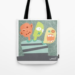 3 Heads are Better than One Tote Bag