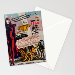 Vintage Battle-Star Galactica Vintage 1955 Theatre Poster Stationery Cards