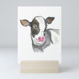 Cute Calf Mini Art Print