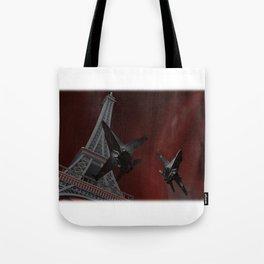 Tour Eiffel war Tote Bag