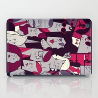 rocky horror picture show iPad Cases featuring The Rocky Horror Picture Show by Ale Giorgini