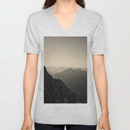 Mountain Side Color Photography Germany Europe Nature Unisex V-Neck