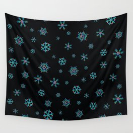 Snowflake Pattern Wall Tapestry