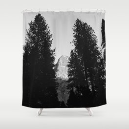 Yosemite National Park VII Shower Curtain
