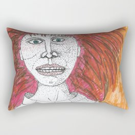 Inside I Scream Rectangular Pillow
