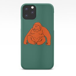 The Marvellous Orangutan iPhone Case