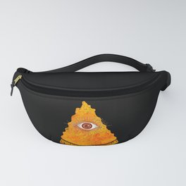 All Seeing Pizza Fanny Pack