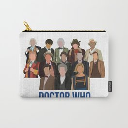 Doctor Who Through the Years Carry-All Pouch