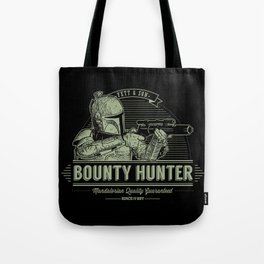 Galactic Bounty Hunter Tote Bag