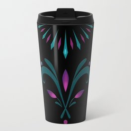 Elsa Embroidery Travel Mug