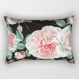 Dark floral bloom Rectangular Pillow