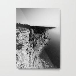 Where sea meets land Metal Print