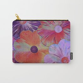 Big Blooms Carry-All Pouch