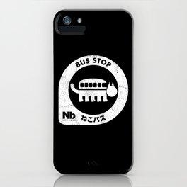 Cat bus iPhone Case