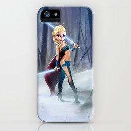 Frozen Sith Elsa iPhone Case