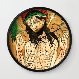 Man of Sorrows Wall Clock