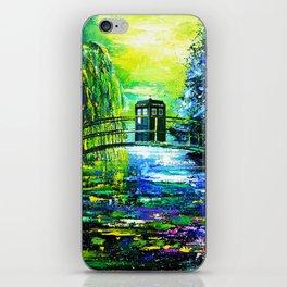 Tardis Art iPhone Skin