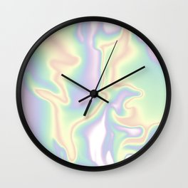 HOLOGRAPHIC DAYDREAM Wall Clock