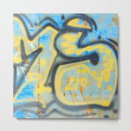 Zam Metal Print