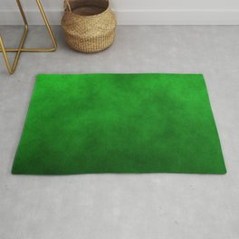 Monster Green Mad Scientist Laboratory Fog Rug