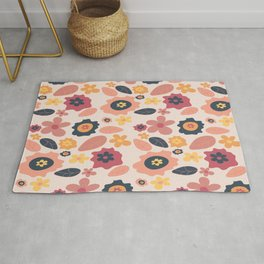 Quirky Flowers Rug