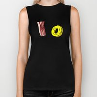 Bacon Pineapple Biker Tank