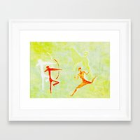 hunting Framed Art Prints featuring Hunting by LoRo  Art & Pictures