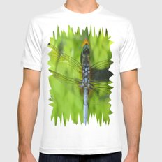 Winged White SMALL Mens Fitted Tee