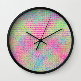 The Incident at The Highlighter Factory Continued Wall Clock