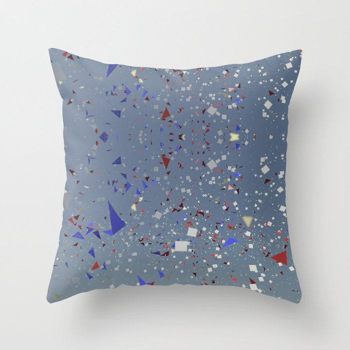 Dancing in the space Throw Pillow