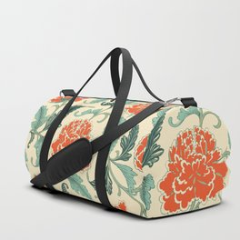 Chinese peony Duffle Bag