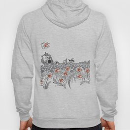 poppies, lions, tigers, and bears, oh my Hoody