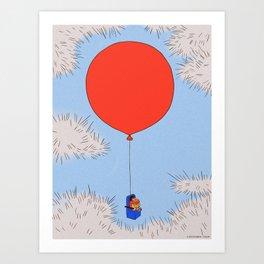 Fear of flying (3) Art Print
