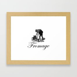 Say Fromage Framed Art Print