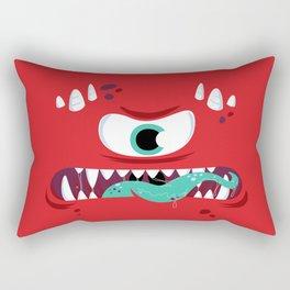 Baddest Red Monster! Rectangular Pillow