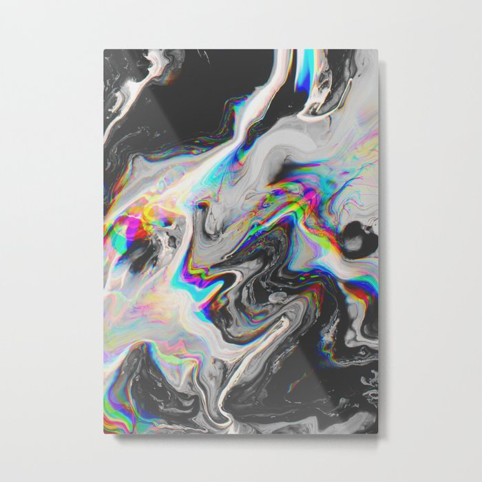 CONFUSION IN HER EYES THAT SAYS IT ALL Metal Print