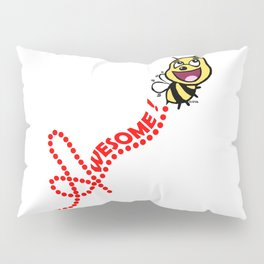 Bee Awesome Pillow Sham