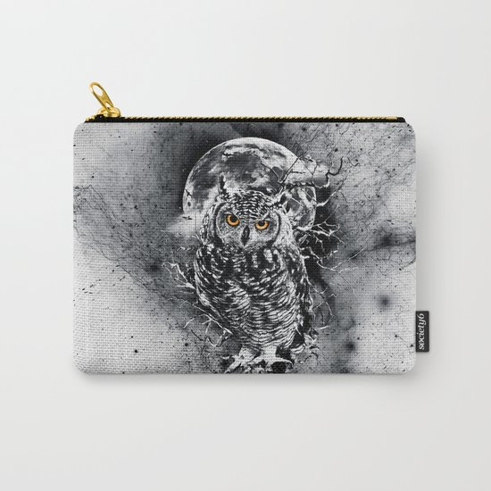 OWL BW Carry-All Pouch
