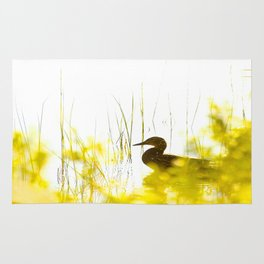 Bird by the lake #decor #society6 #buyart Rug
