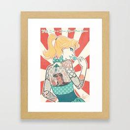 Johnny Kobayashi Framed Art Print
