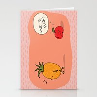punk Stationery Cards featuring Punk by Peach it!