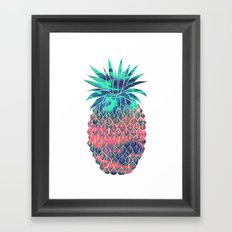 Maui Pineapple Framed Art Print
