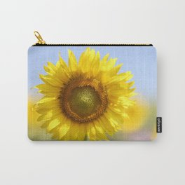 Sunflower - Flower, Floral, Nature Photography Carry-All Pouch