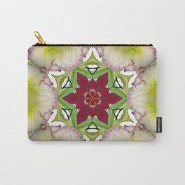 Daylily mandala 6 - Hemerocallis kaleidoscope Carry-All Pouch