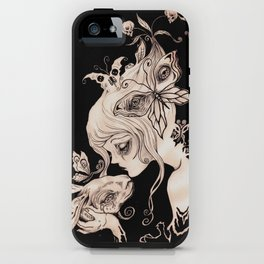 Alice Dreaming iPhone Case