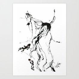 Rei Art Print