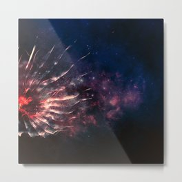 Space Jelly Metal Print